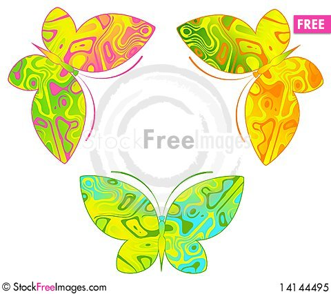 Free Tropical Butterfly Royalty Free Stock Photo - 14144495
