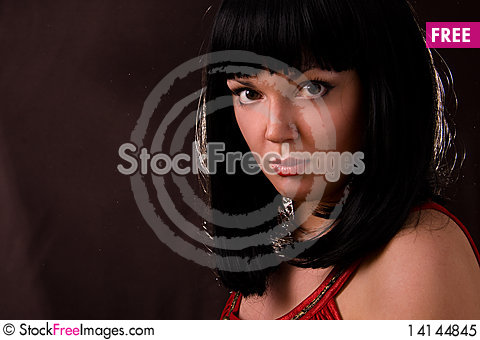 Free Portrait Of Beautiful Young Woman Royalty Free Stock Photo - 14144845