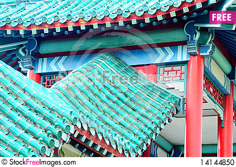Free Detail Of Chinese Roof Stock Photo - 14144850