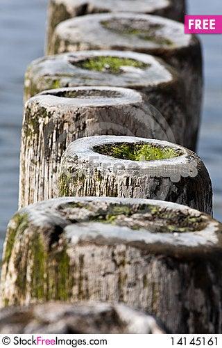 Free Breakwater Stock Image - 14145161