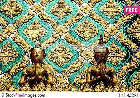 Free Fragment Of Mosaic Stock Image - 14145291