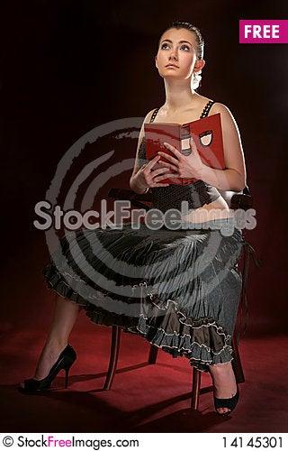 Free The Beautiful Girl Stock Image - 14145301
