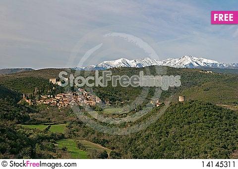 Free Village In Mountain Stock Image - 14145311