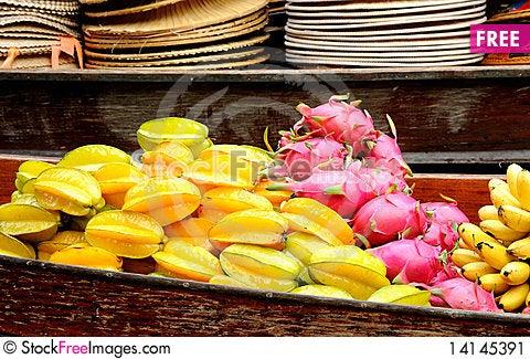 Free Exotic Fruits Stock Image - 14145391