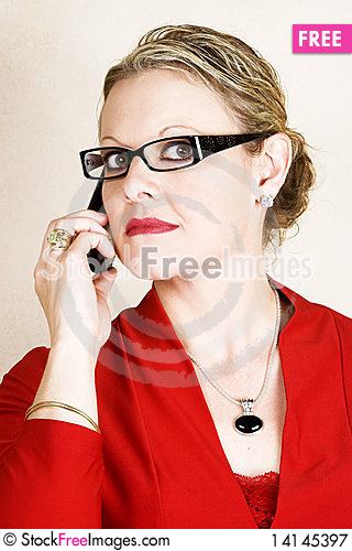 Free Business Woman Royalty Free Stock Photography - 14145397