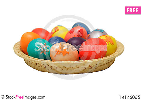 Free Easter Eggs Royalty Free Stock Photo - 14146065
