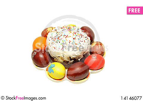 Free Easter Eggs Royalty Free Stock Photography - 14146077
