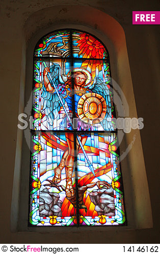 Free Stained Glass Handmade Stock Photography - 14146162