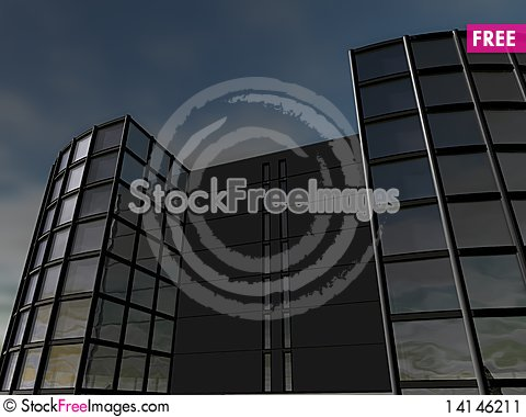 Free Business Building Stock Image - 14146211