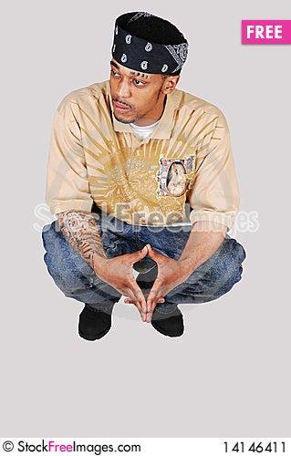 Free Young Black Man Stock Image - 14146411