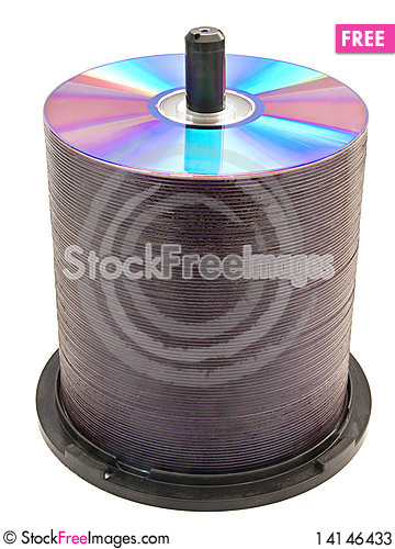Free Disks On A Spindle Stock Photos - 14146433