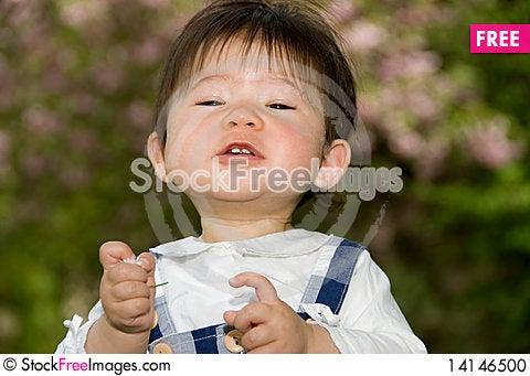 Free Cute Little Girl Stock Photo - 14146500
