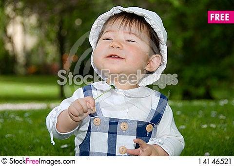 Free Cute Little Girl Stock Image - 14146521