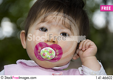 Free Cute Innocent Girl Stock Photography - 14146602