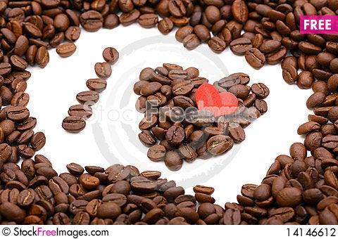 Free I Love Coffee Stock Photography - 14146612