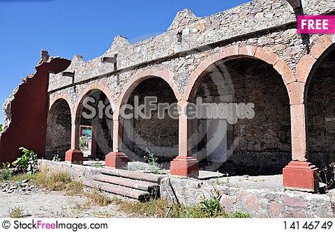 Free Old Hacienda Royalty Free Stock Images - 14146749