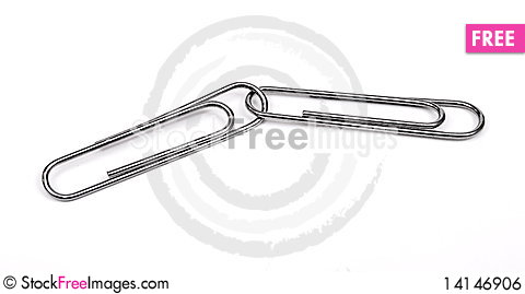 Free Paper Clips Royalty Free Stock Image - 14146906