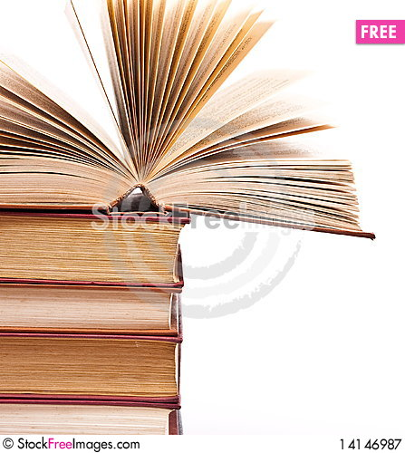 Free Pile Of Books Royalty Free Stock Photography - 14146987