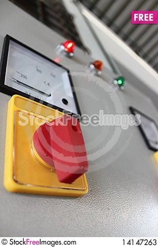 Free Volt Meter For Transportation Stock Photos - 14147263