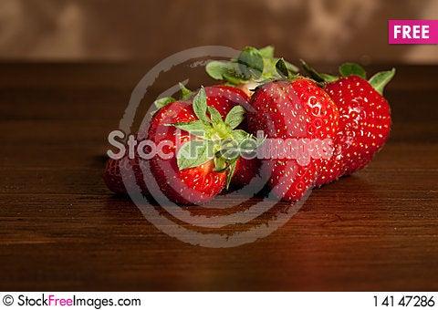 Free Strawberries Royalty Free Stock Image - 14147286