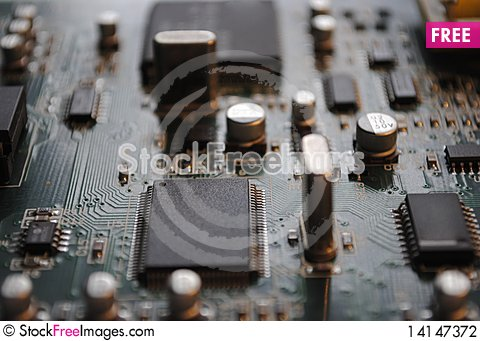 Free Electronic Board Stock Photography - 14147372