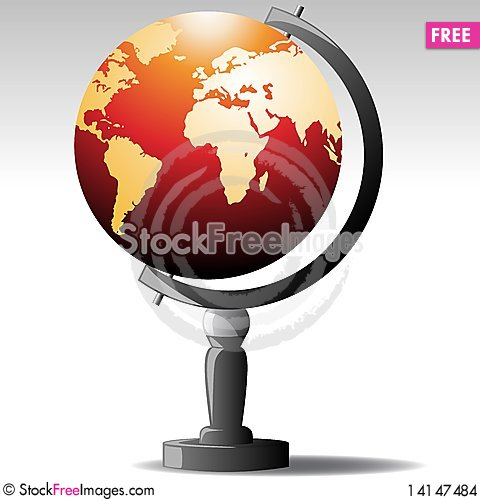 Free 3d Earth Map Stock Images - 14147484