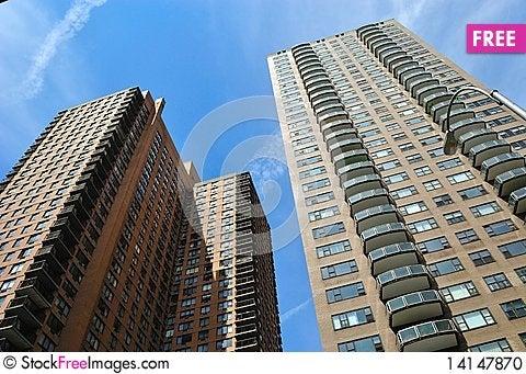 Free New York City Apartments Stock Photo - 14147870