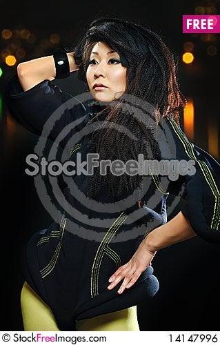 Free Brunette Asian Model Royalty Free Stock Image - 14147996
