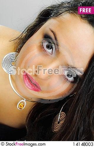 Free Girl With Wonderful Eyes Stock Photos - 14148003