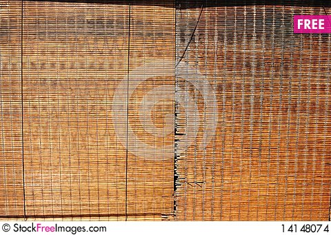 Free Reed Blinds Stock Images - 14148074