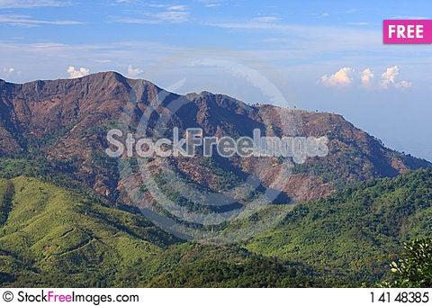 Free Mountain Landscape Royalty Free Stock Photo - 14148385