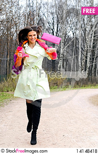 Free Happy Girl Royalty Free Stock Photos - 14148418