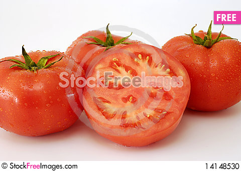 Free Red Tomatoes Stock Photo - 14148530