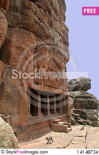 Free Rock-cut Temple Stock Images - 14148734