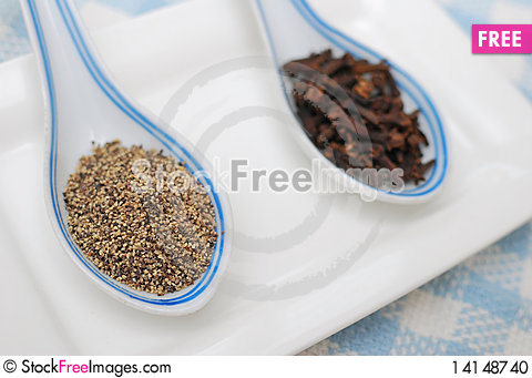 Free Spices And Seasoning As Food Ingredients Stock Photo - 14148740