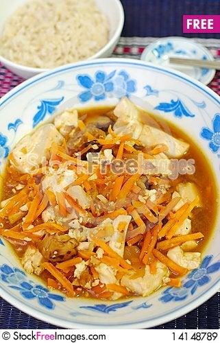 Free Asian Vegetarian Bean Curd Cuisine Royalty Free Stock Images - 14148789