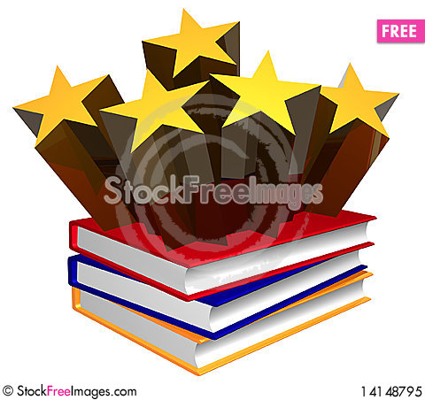 Free Book About Idol And Stars Royalty Free Stock Photo - 14148795