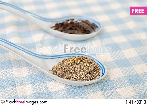 Free Spices And Seasoning As Food Ingredients Stock Photos - 14148813
