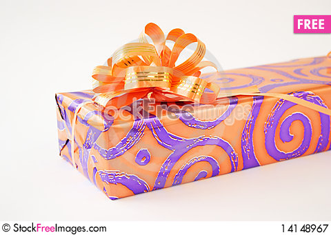 Free Gift Box Royalty Free Stock Photography - 14148967