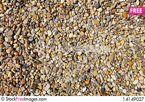 Free Abstract Pebble Stones Background Royalty Free Stock Photography - 14149027