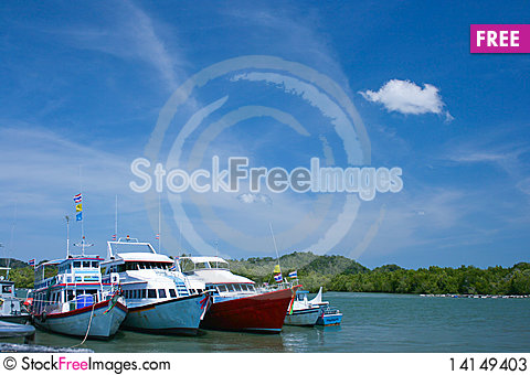 Free Boat On The Sea Stock Photos - 14149403
