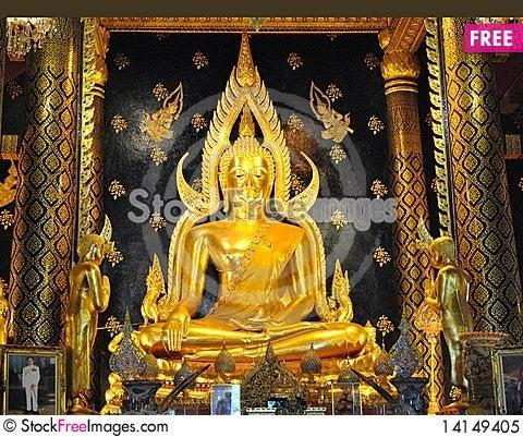 Free Buddha Image Royalty Free Stock Photo - 14149405