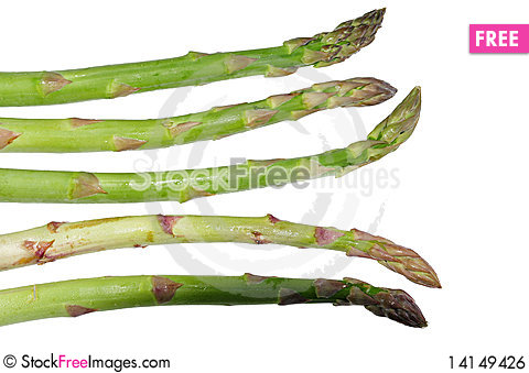 Free Asparagus Vegetables Royalty Free Stock Image - 14149426