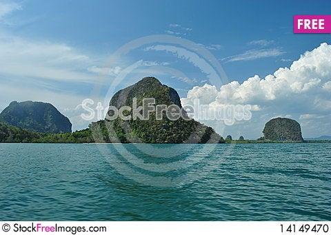 Free Blue Sea Stock Photo - 14149470
