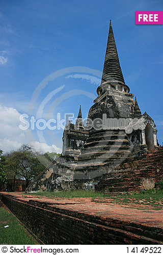 Free Temple Of Thailand Stock Photography - 14149522