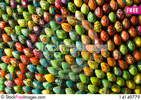 Free Easter Eggs Royalty Free Stock Images - 14149779