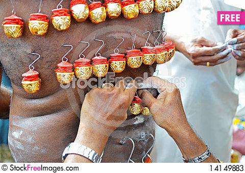 Free Thaipusam Festival Stock Photos - 14149883