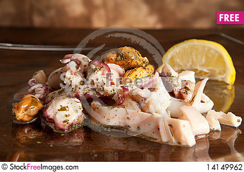 Free Seafood Stock Photography - 14149962