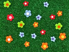 Free Fake Grass Royalty Free Stock Images - 14140189