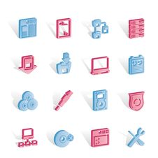 Free Server Side Computer Icons Royalty Free Stock Photography - 14140317